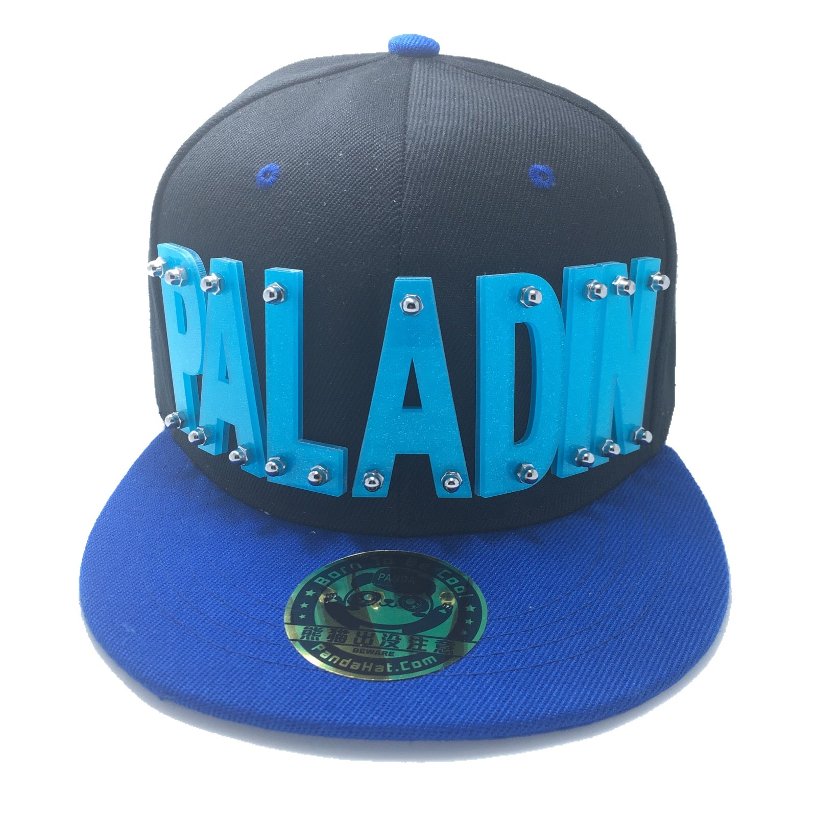ae7eef360 PALADIN VOLTRON HAT IN BLACK WITH BLUE BRIM