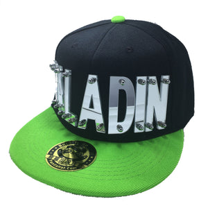 PALADIN VOLTRON HAT IN BLACK WITH GREEN BRIM
