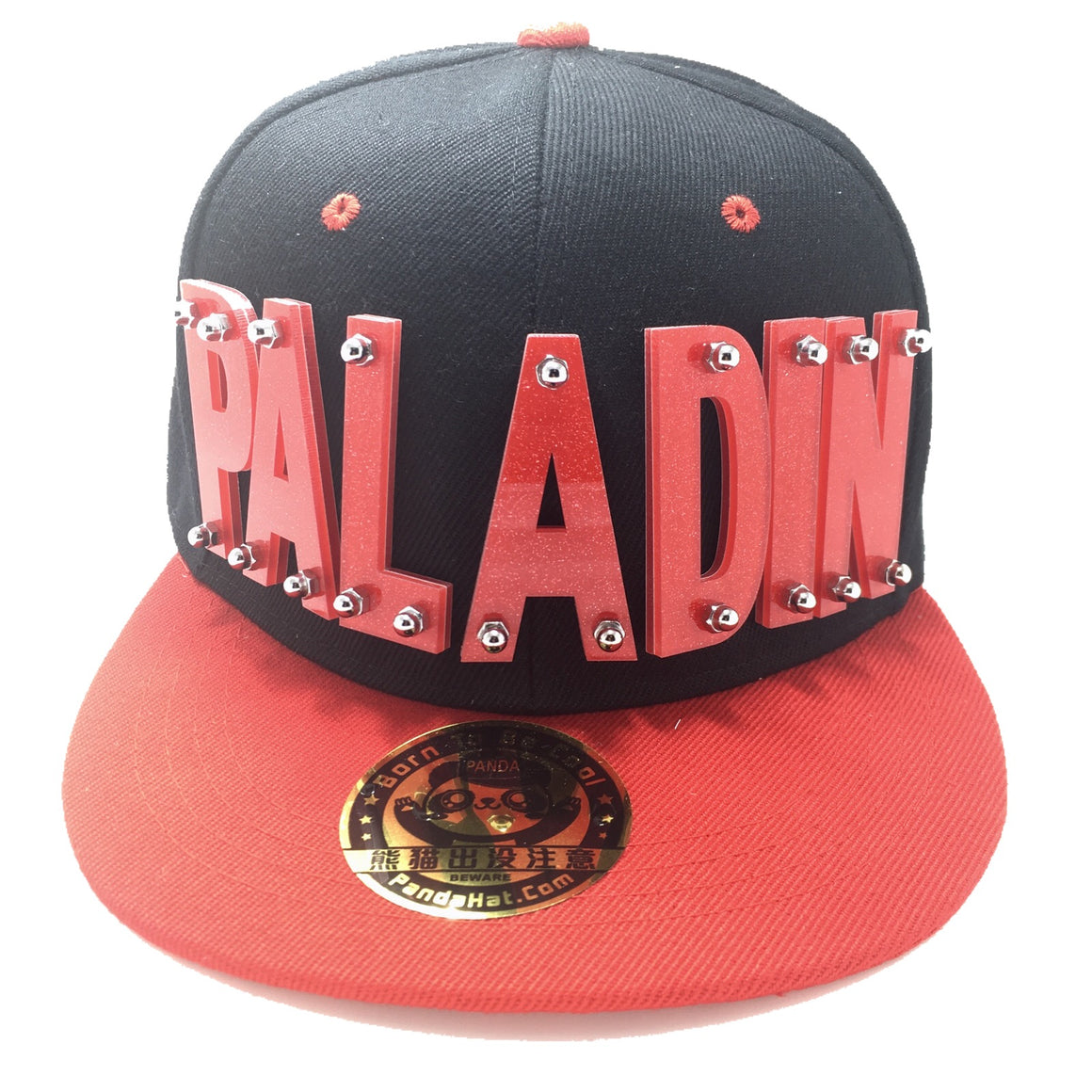 PALADIN VOLTRON HAT IN BLACK WITH RED BRIM