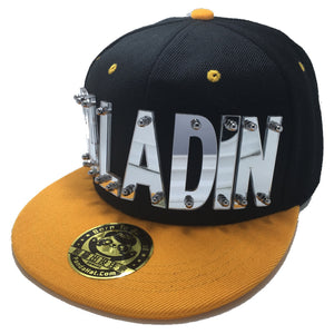 PALADIN VOLTRON HAT IN BLACK WITH YELLOW BRIM