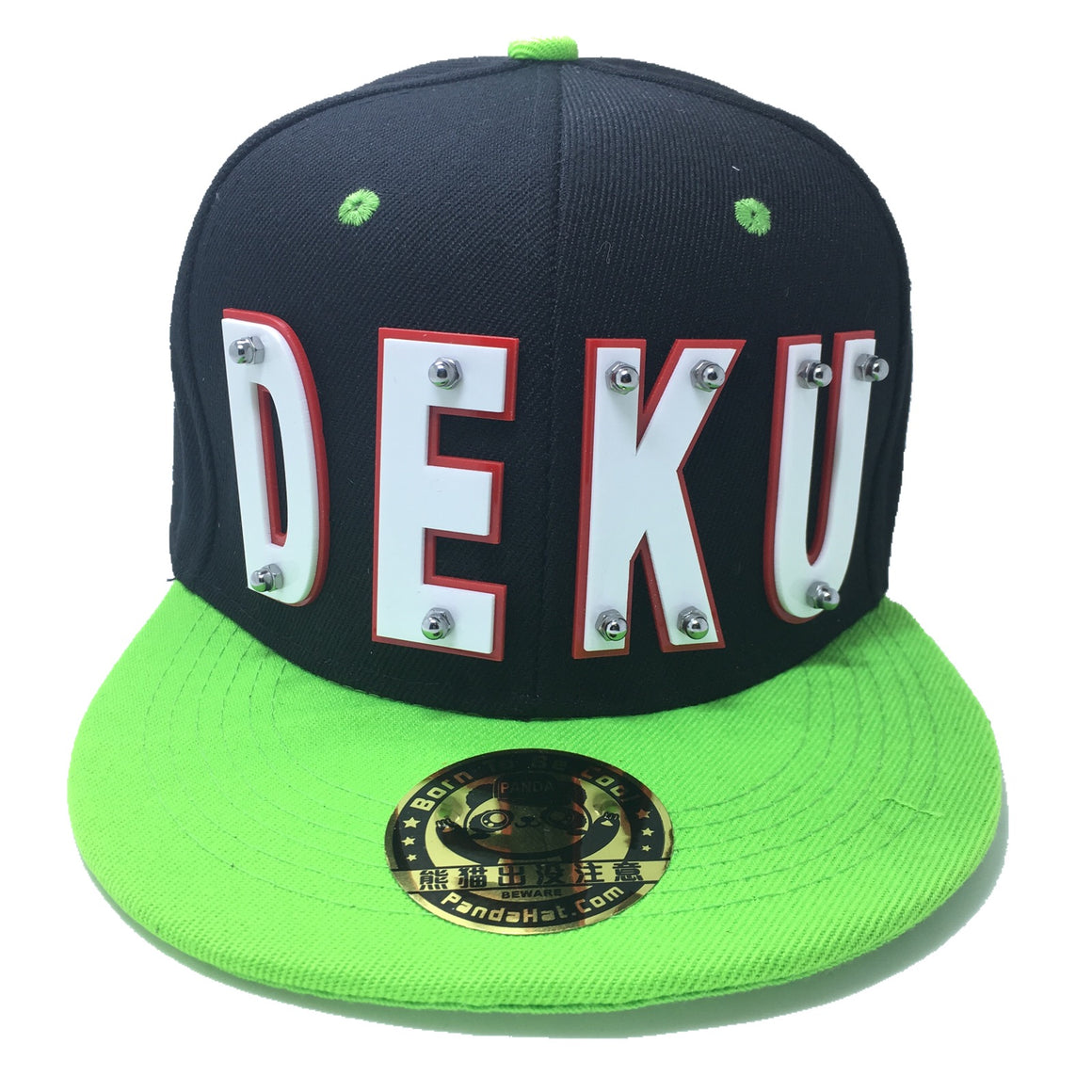 DEKU HAT BLACK GREEN