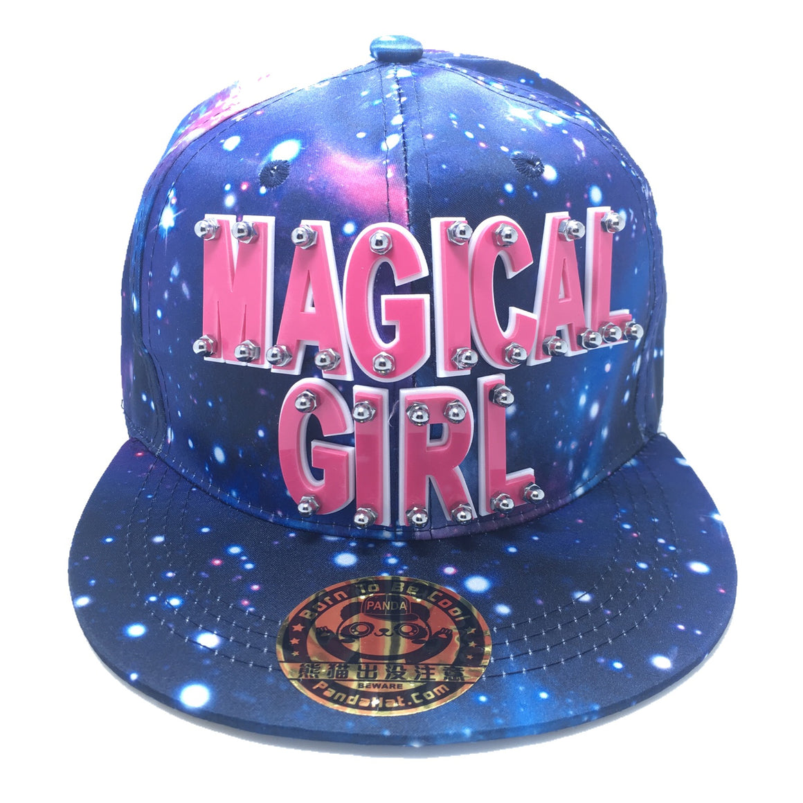 MAGICAL GIRL HAT IN GALAXY BLUE