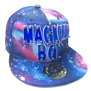 MAGICAL BOY HAT IN GALAXY BLUE