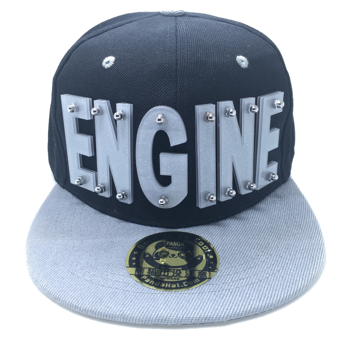 ENGINE HAT IN GREY