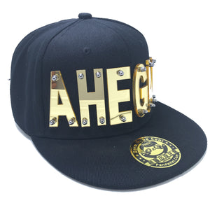 AHEAGO HAT IN BLACK