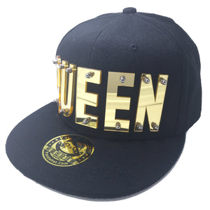 QUEEN HAT IN BLACK