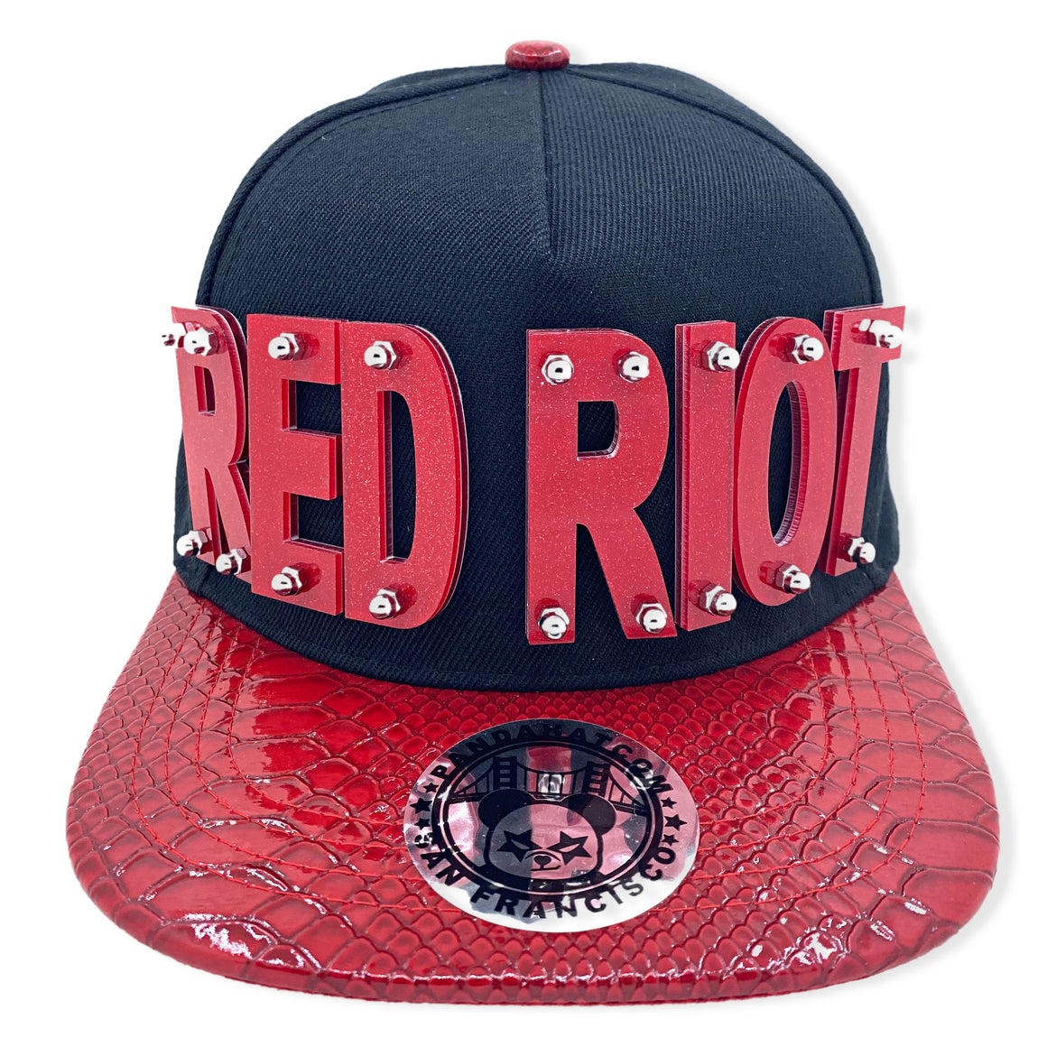 red riot hat