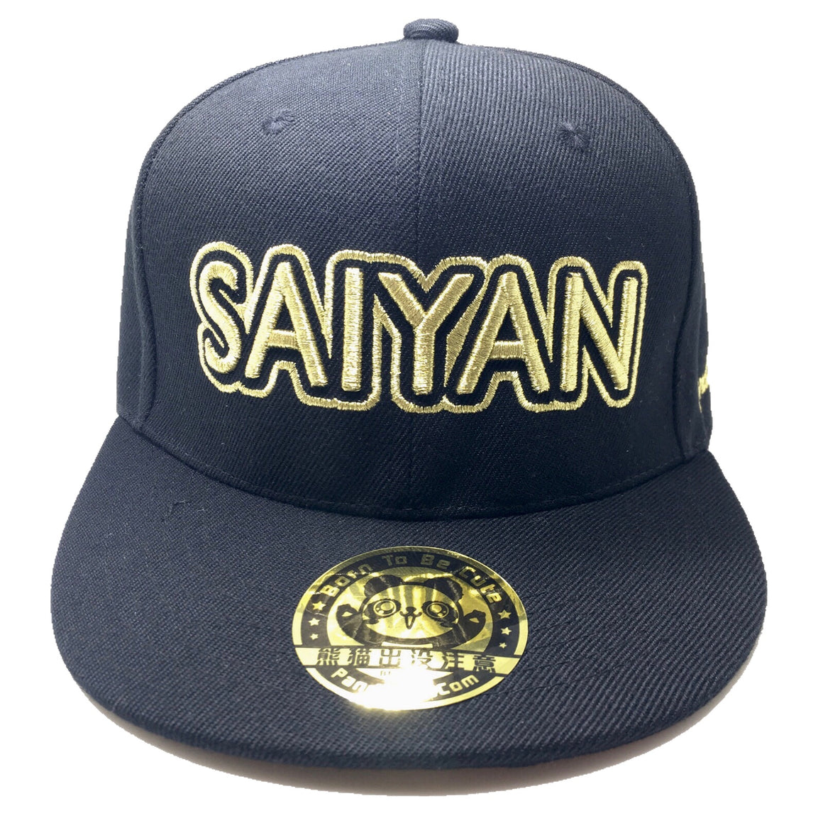 SAIYAN 3D PUFF EMBROIDERY HAT