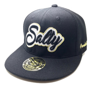 SALTY CURSIVE 3D PUFF EMBROIDERY HAT