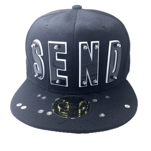SEND NUDES HAT BLACK