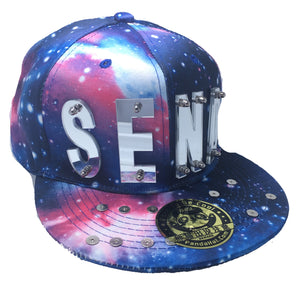 SEND NUDES HAT GALAXY SILVER LEFT