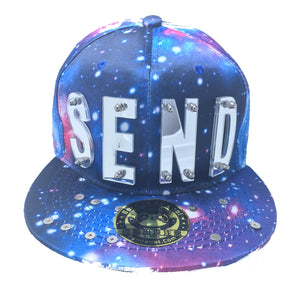 SEND NUDES HAT GALAXY SILVER