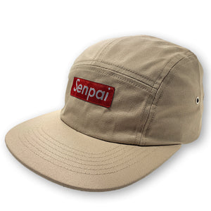 SENPAI 5 PANEL HAT WITH SNAP CLOSURE