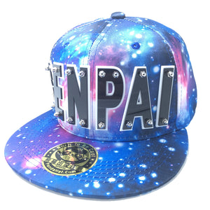 SENPAI HAT IN GALAXY BLUE