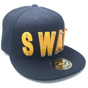 SWAG HAT IN BLACK