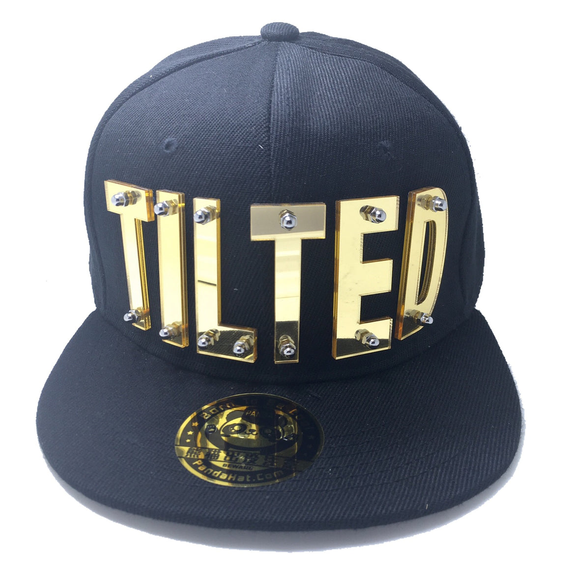 TILTED HAT BLACK