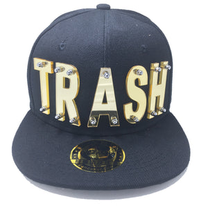 TRASH HAT BLACK GOLD