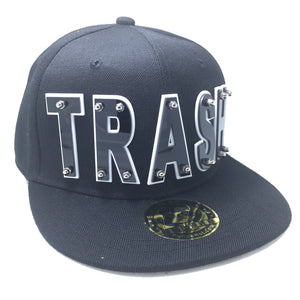 TRASH HAT BLACK LEFT