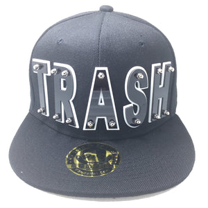 TRASH HAT BLACK