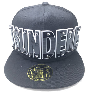 TSUNDERE HAT BLACK