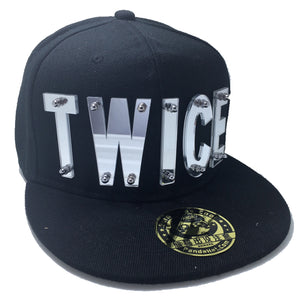 TWICE HAT IN BLACK