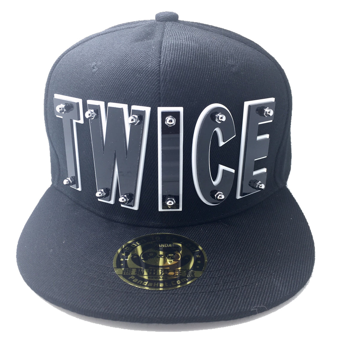 TWICE HAT BLACK SILVER