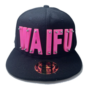 WAIFU HAT BLACK PINK