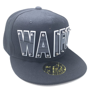 WAIFU HAT BLACK LEFT