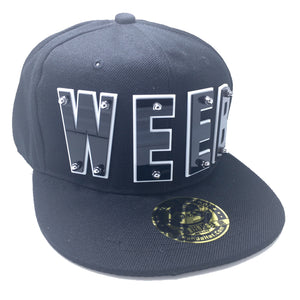WEEB HAT IN BLACK