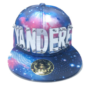 YANDERE HAT GALAXY BLUE