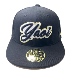 YAOI CURSIVE 3D PUFF EMBROIDERY HAT