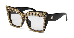GlamFashion Oversized Glasses
