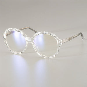 Crystal Round Glasses