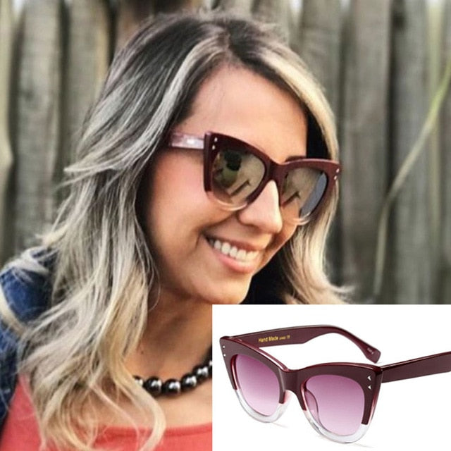 Ribeth Cat Eye Sunglasses