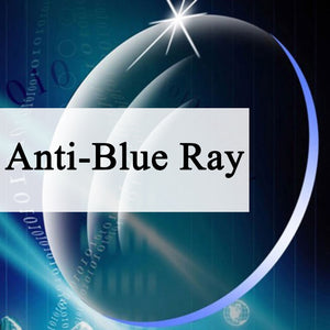 Single Vision Anti-Blue Ray