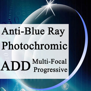 Multi-Focal + Anti-Blue Ray + Transition