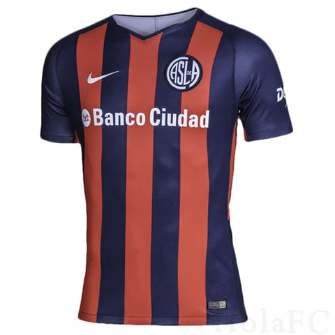 Camiseta San Lorenzo local 2018/2019