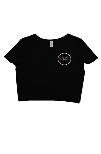 Dead Poets Honor Crop Top (black)