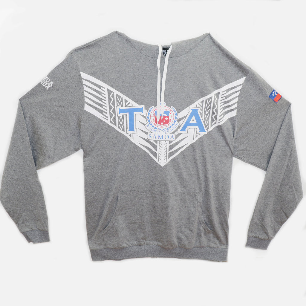 TOA Rugby League Hoodie- Dark Grey