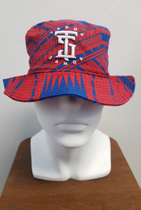 Tanoa Bucket Hat- Red Blue