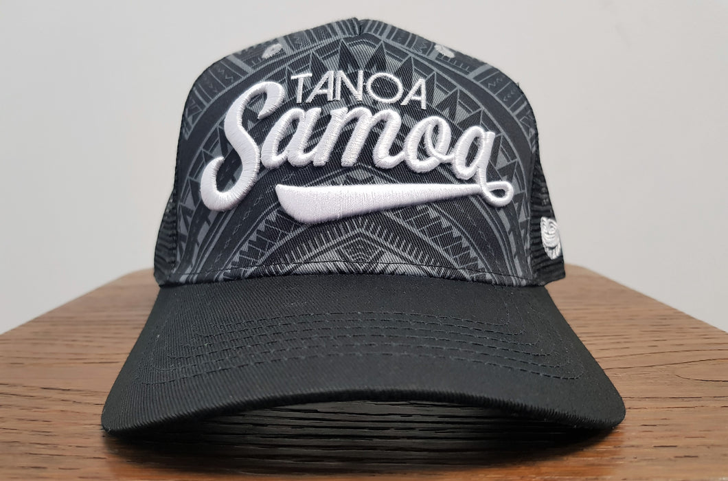 Tanoa Net Hat- Black