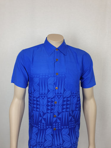 East Coast Rayon Shirt-SS1300 Blue