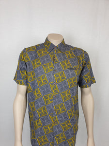 Men's Cotton Shirt- SS1256-TS/ Grey