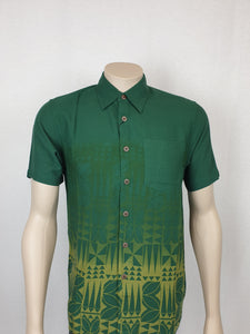 East Coast Rayon Shirt Matafai - SS1300/BlackGreen