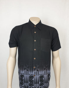 East Coast Rayon Shirt-SS1300 BLACK