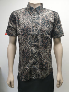 Men's Pua Elei Shirt TSCSS02 Black
