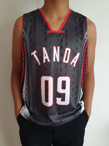 Tanoa Basketball Vest Vasea - TM1903 - Black