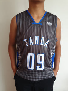 Tanoa Basketball Vest Uso - TM1902 - Charcoal