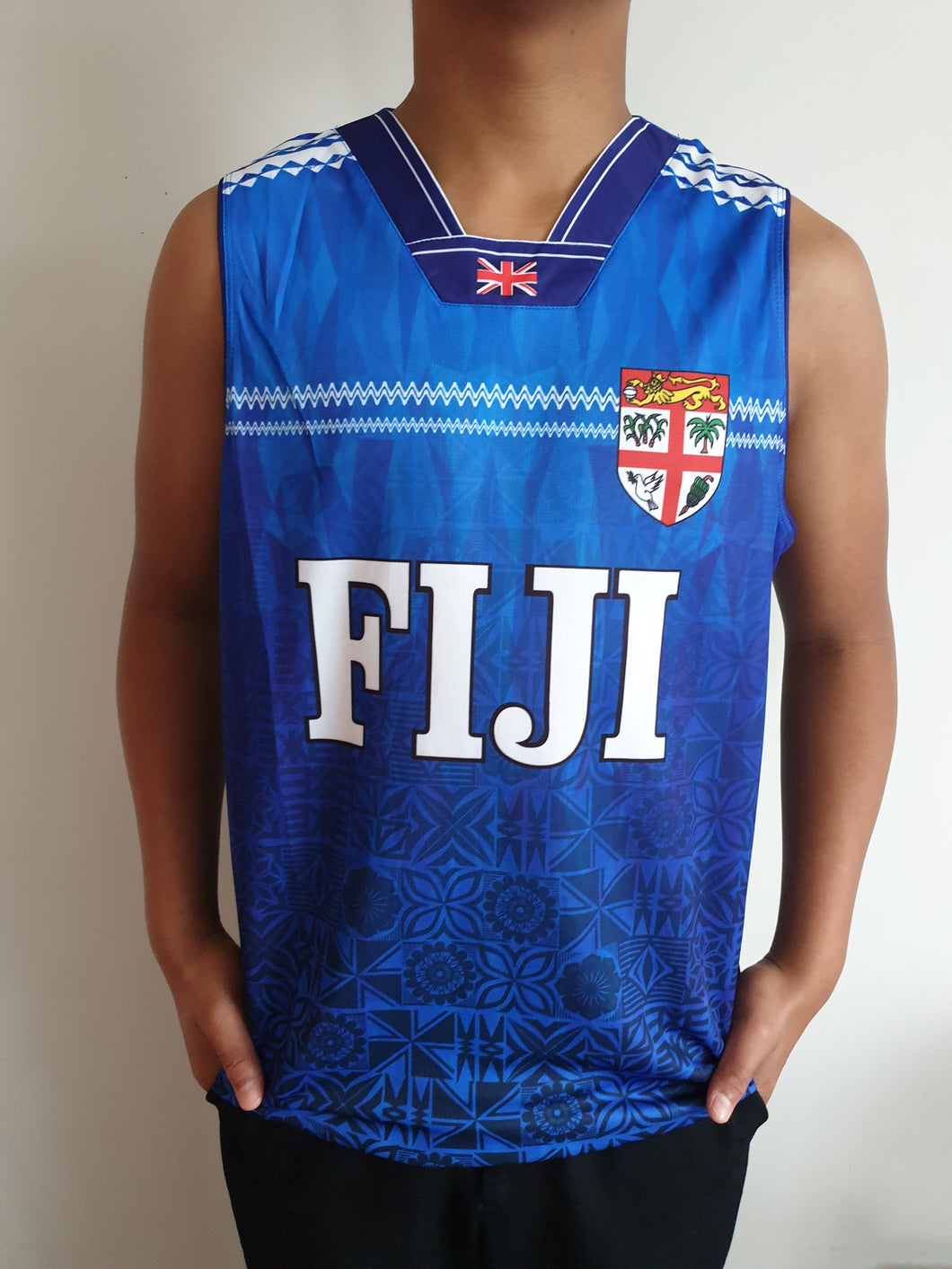 Fiji Daily Sublimation Vest -TM2095 Royal