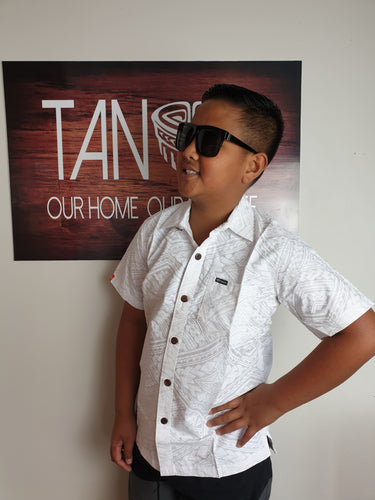 Boys Shirt -SB1048 White